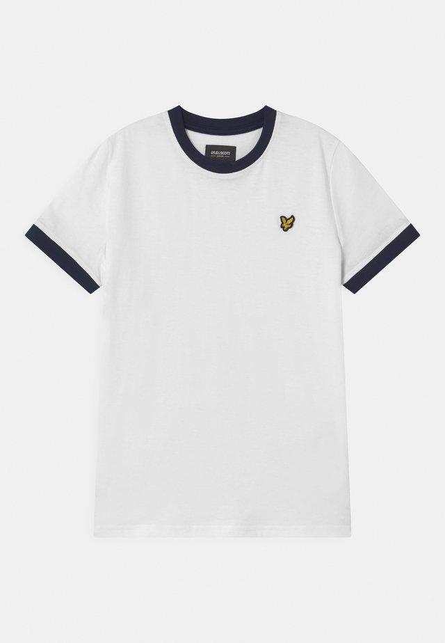 RINGER  - T-shirt print - bright white