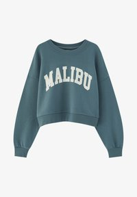 PULL&BEAR - Mikina - green - 5
