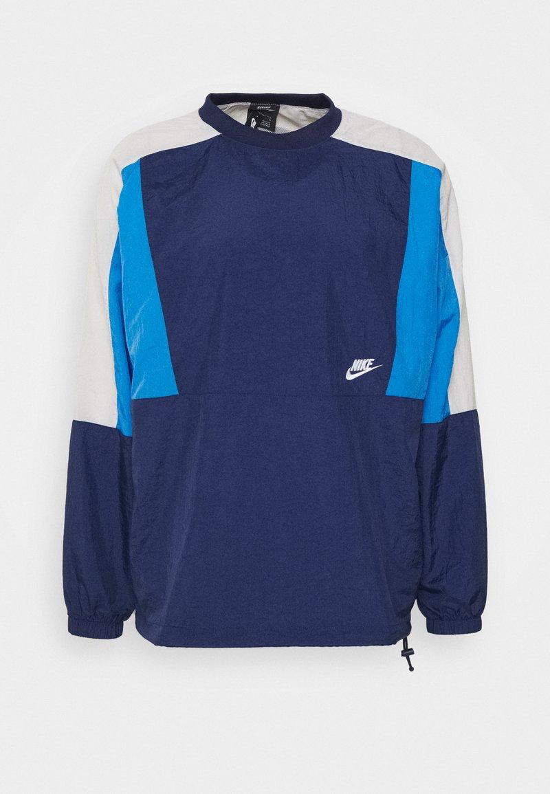 Nike Sportswear - CREW - Kurtka sportowa - midnight navy/pacific blue/light bone