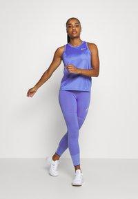 Nike Performance - MILER TANK - Camiseta de deporte - sapphire/reflective silver - 1