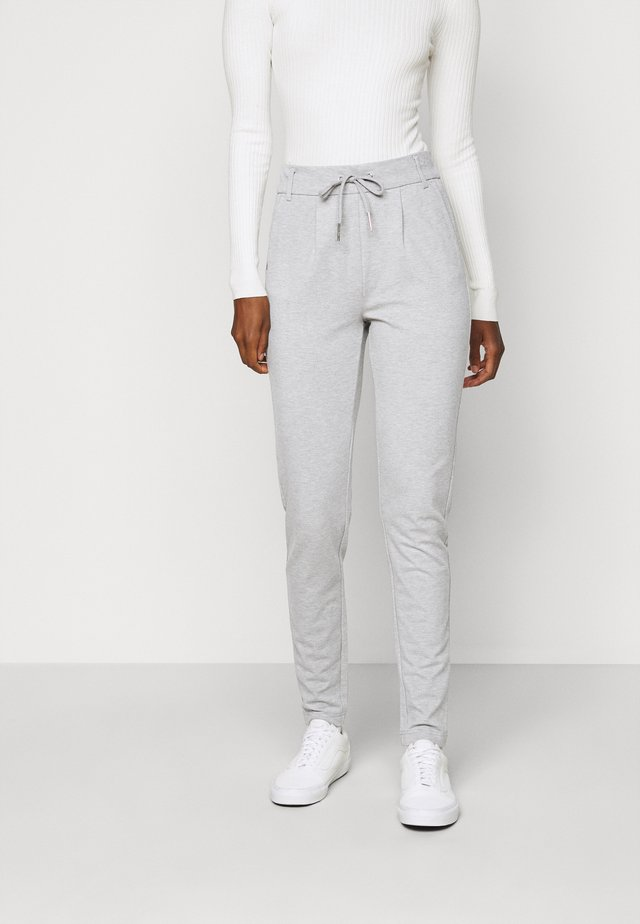 ONLPOPTRASH EASY  PANT - Broek - light grey melange