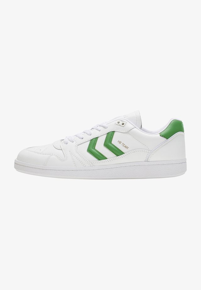 HB TEAM - Sneakers laag - white green
