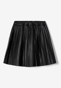 Name it - ROCK  - A-line skirt - black - 4