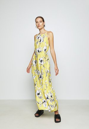 HALTER - Maxi dress - yellow