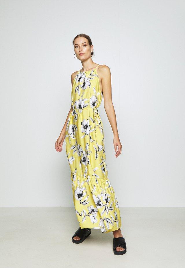 HALTER - Maxi šaty - yellow