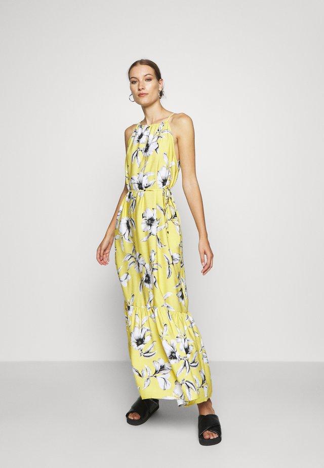HALTER - Vestido largo - yellow