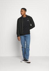 Lee - PLAIN CREW - Sweatshirt - black - 1