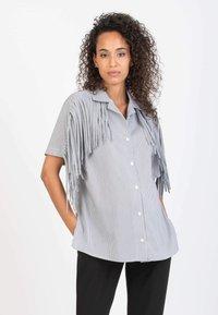 Attesa Maternity - GINEVRA - Overhemdblouse - black - 0
