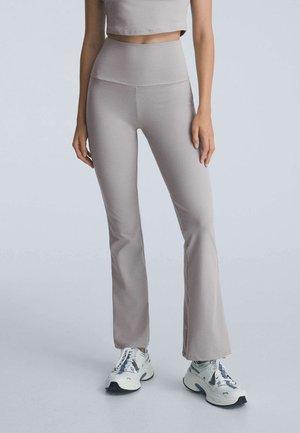 COMFORT FLARE  - Leggings - Trousers - grey
