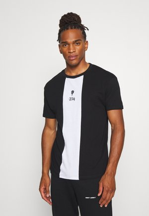 ROSE TEE - T-shirt imprimé - black