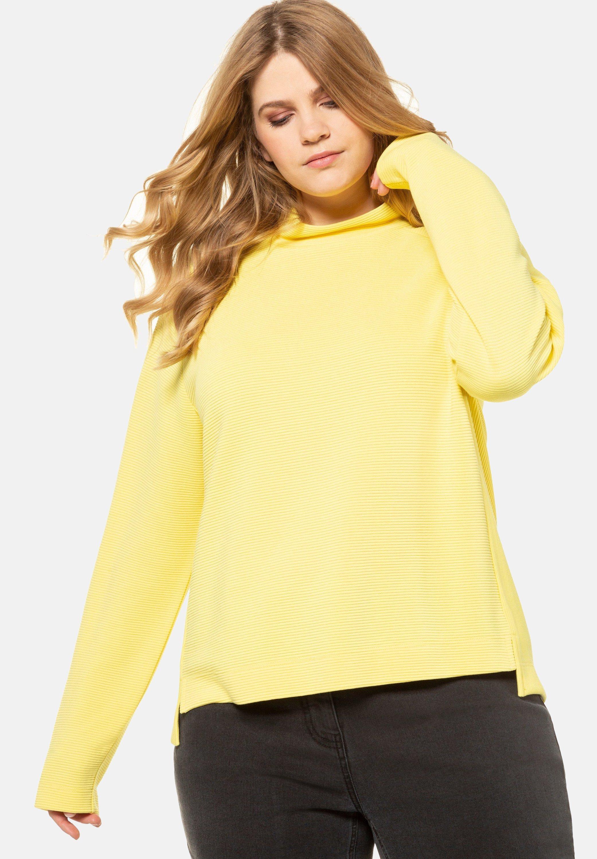 Ulla Popken Pullover - yellow - Pulls & Gilets Femme oVmlJ