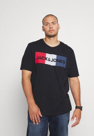 JJECORP LOGO TEE O NECK - T-shirt print - black