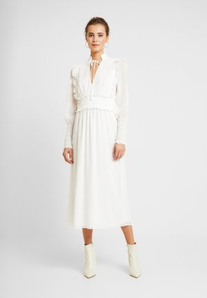 LAST NIGHT MIDI DRESS - Robe longue - white