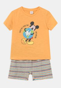 OVS - SET - T-shirt print - warm apricot - 0