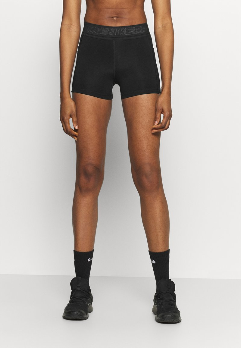 Nike Performance - SHORT FEMME  - Punčochy - black/white
