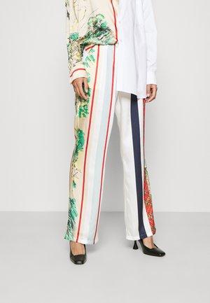 Spodnie materiałowe - off-white