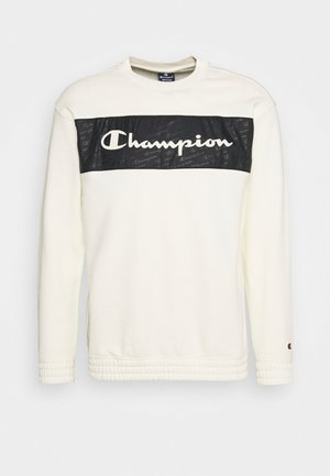 LEGACY HERITAGE TECH CREWNECK - Sweatshirt - off-white/black