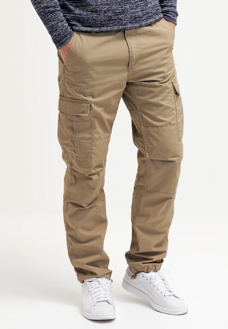 Carhartt WIP - AVIATION PANT COLUMBIA - Cargo trousers - khaki/light brown