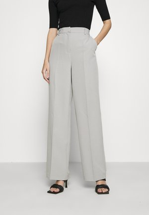 STRAIGHT LEG SUIT TROUSERS - Bukser - grey
