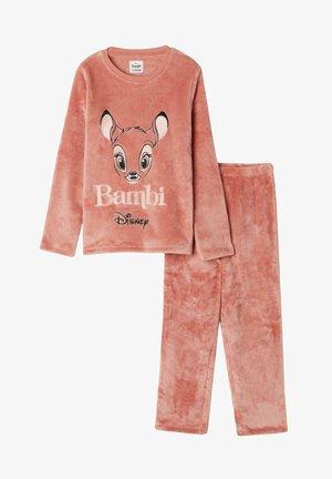 MIT DISNEY BAMBI PRINT - Pyjama set - light brown bambi print
