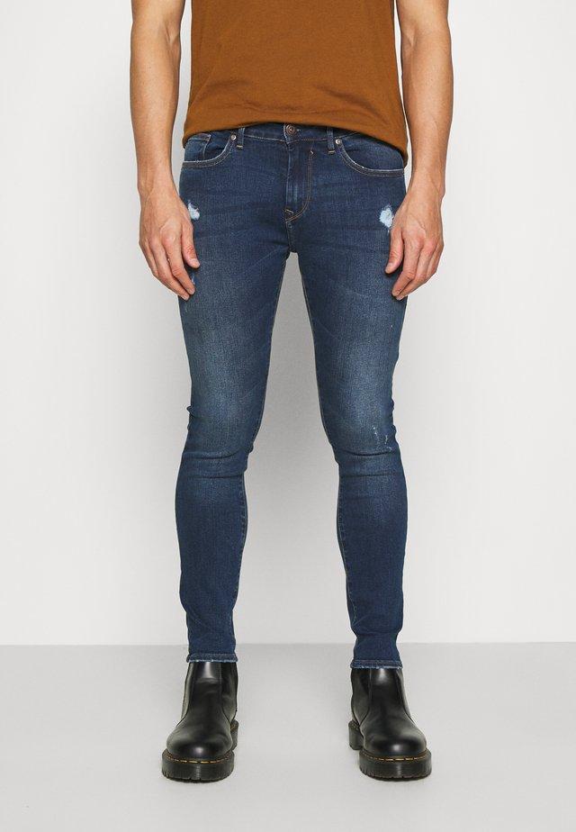 HARRY - Skinny džíny - blue denim