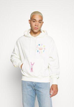 UNISEX LOVE UNITES - Sweatshirt - off white/multicolor