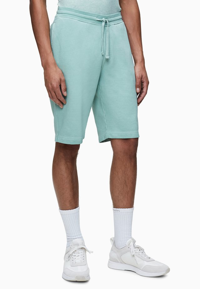 TERRY  - Shorts - granite green
