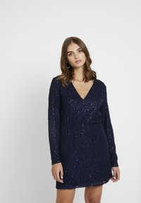 Nly by Nelly - SPARKLY DRESS - Cocktailkjole - blue - 0
