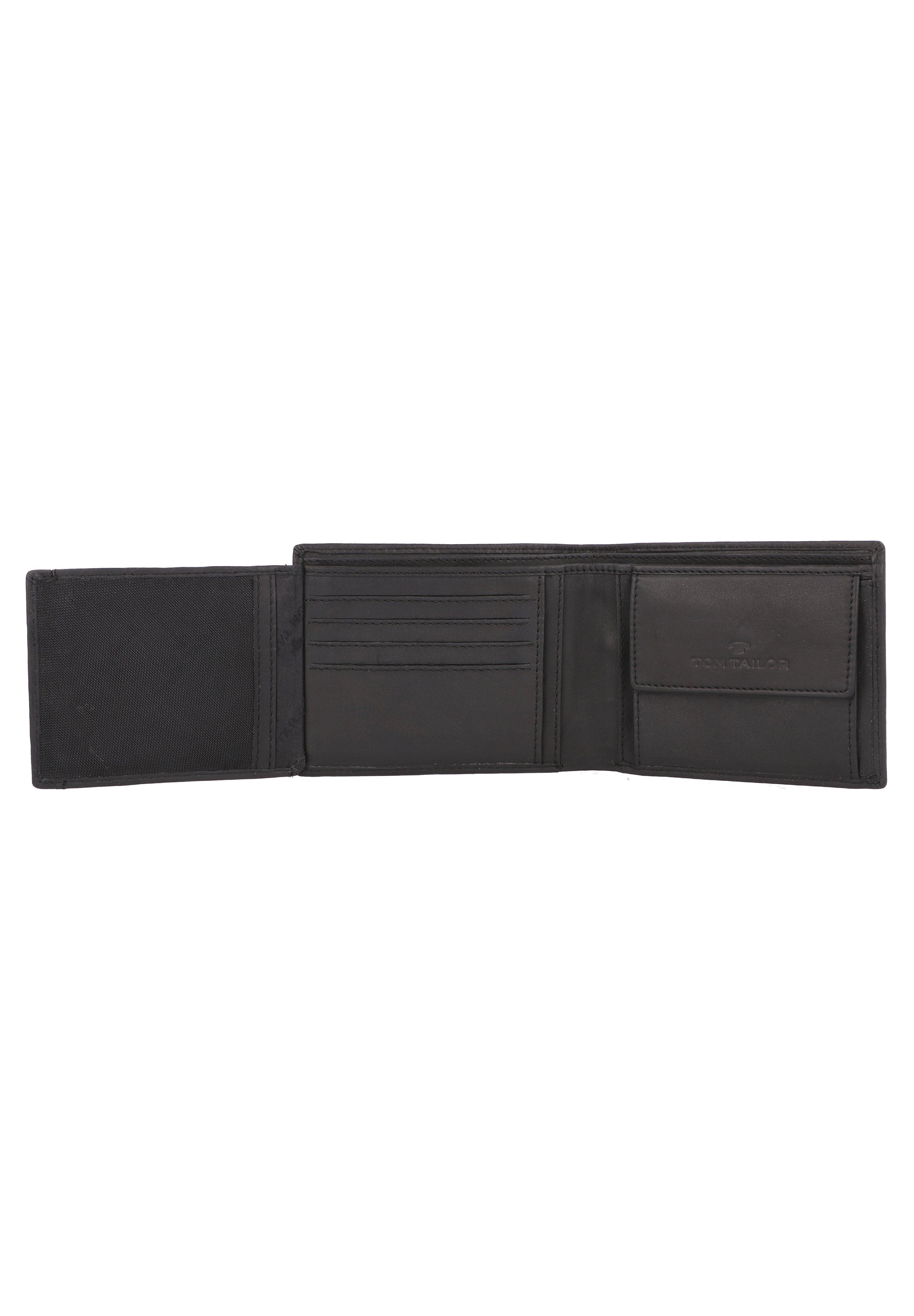 TOM TAILOR BARRY GELDBÖRSE RFID LEDER 12 CM - Geldbörse - black/schwarz - Herrentaschen xjObV