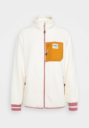 RØTHE MIDLAYER - Fleece jacket - white