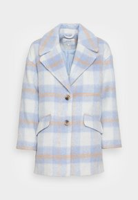 VILA PETITE - VIALISSI JACKET - Short coat - white/light blue - 3