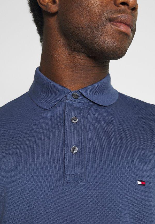 Tommy Hilfiger Koszulka polo - faded indigo/szaroniebieski Odzież Męska LJVM