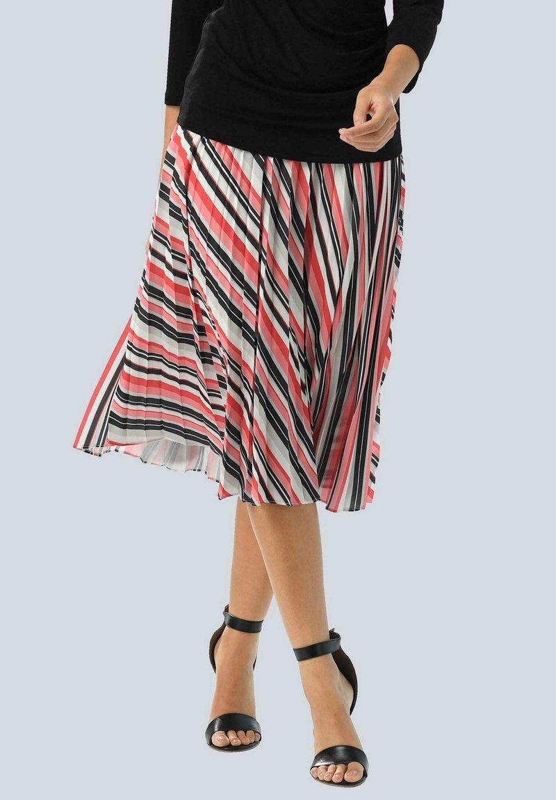 Alba Moda - A-line skirt - rot