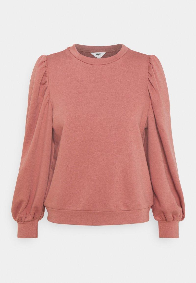 Object Petite - OBJMAJA - Sweatshirt - withered rose