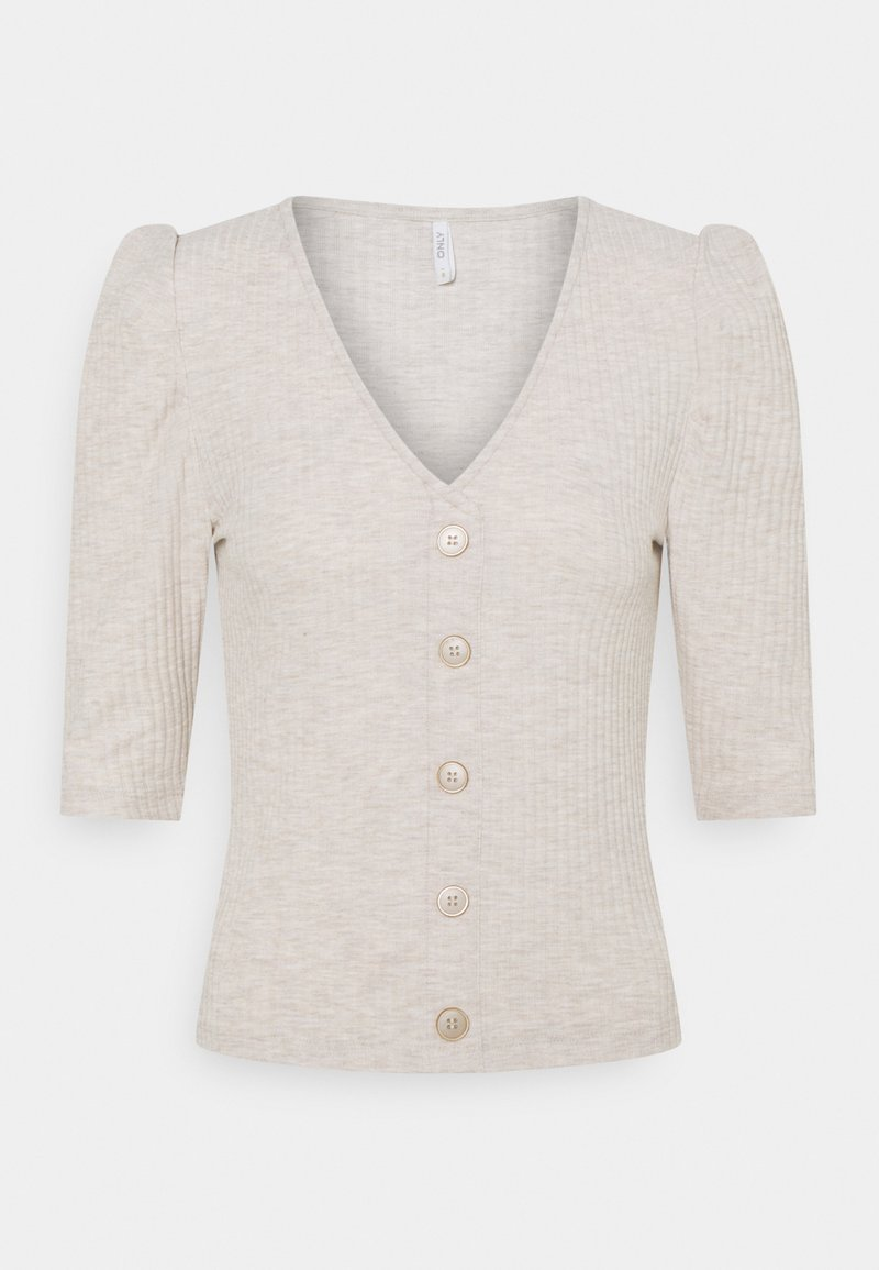 ONLY - ONLNELLA BUTTON - Cardigan - pumice stone