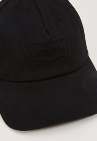 Levi's® - BIG BATWING DEBOSS FLEXFIT - Lippalakki - black - 2
