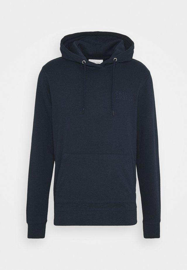 SEBASTIAN HOOD - Sweatshirt - navy blazer