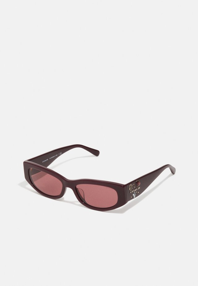 Solglasögon - solid oxblood