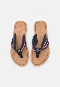 TOM TAILOR - T-bar sandals - navy - 3