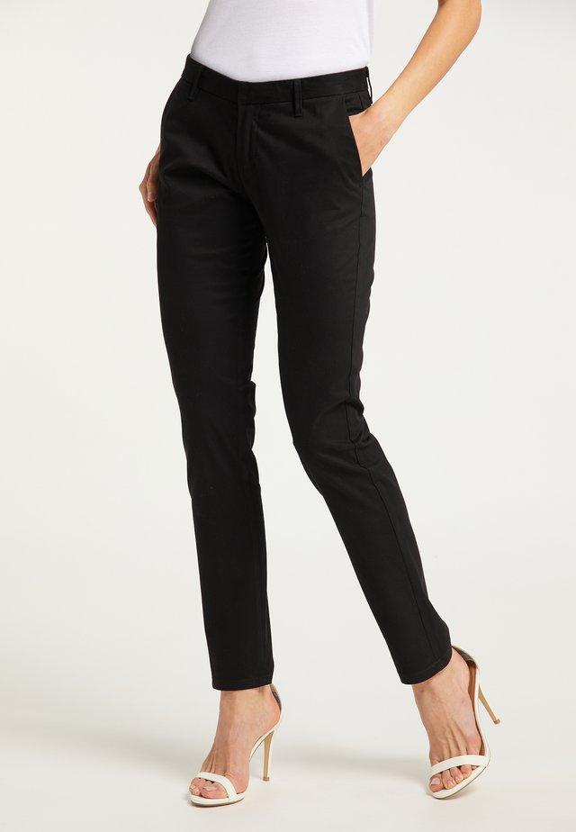 Pantalon classique - schwarz