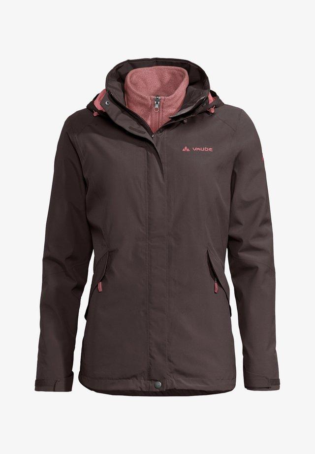 Hardshell jacket - pecan brown