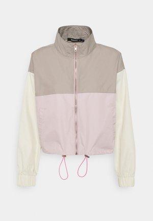 SPORTY COLOURBLOCK CO ORD ZIP - Treningsjakke - pink