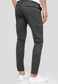 INDICODE JEANS - SUPER STRETCH ECKHART - Cargo trousers - charcoal mix - 2