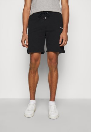 LENS - Shorts - black/white