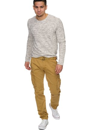 WILLIAM - Pantaloni cargo - beige