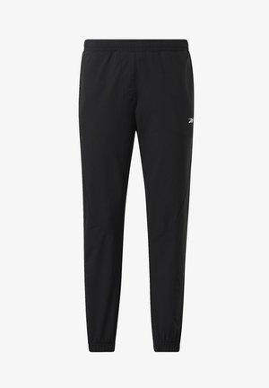 STRETCH WOVEN JOGGERS - Pantalon de survêtement - black