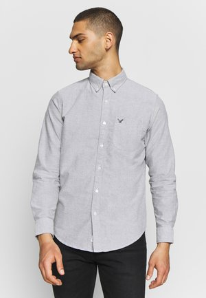 SOLID OXFORDS - Camicia - smoked gray