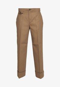 CAVALRY PANT - Kalhoty - toffee