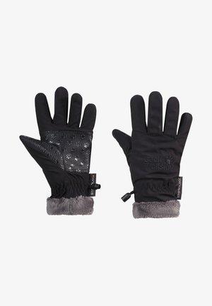SOFTSHELL HIGHLOFT GLOVE  - Gloves - black