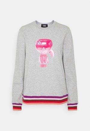 STRIPE IKONIK - Sweatshirt - light grey